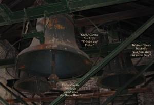 Die 3 Glocken und ihre Inschriften