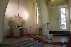 Altar von der Seite